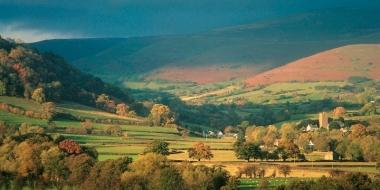 Landscape, Cwmdu, Brecon Beacons